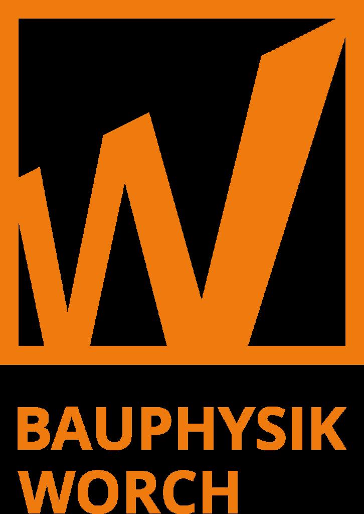 Bauphysik-Worch_Wort-Bild-Marke_Hoch-Orange 2