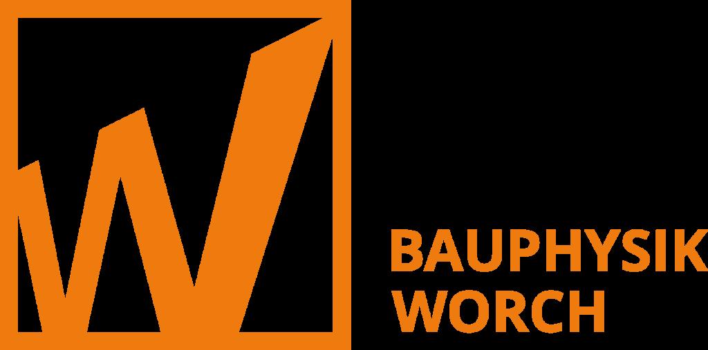 Bauphysik-Worch_Wort-Bild-Marke_Quer-Orange